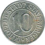 10 Pfennig (Stavenhagen) [Stadt, Mecklenburg-Schwerin] – avers
