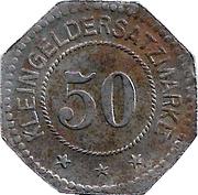 50 Pfennig (Oldenburg) – avers