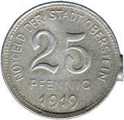 25 Pfennig (Oberstein) [Oldenburg-Birkenfeld] – avers