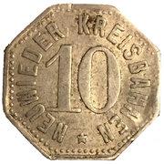 10 Pfennig (Neuwied) [Kreisbahn, Rheinprovinz] – avers