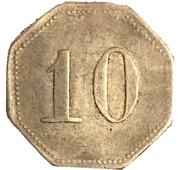 10 Pfennig (Neuwied) [Kreisbahn, Rheinprovinz] – revers