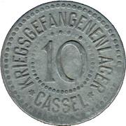 10 Pfennig (Cassel) [POW, Hessen-Nassau] – avers