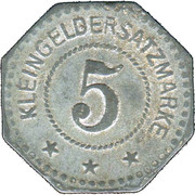 5 Pfennig (Landau) [Stadt, Pfalz] – revers