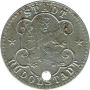 10 Pfennig (Rudolstadt) [Stadt, Schwarzburg-Rudolstadt] – avers