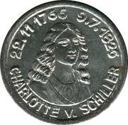5 Pfennig (Rudolstadt) [Stadt, Schwarzburg-Rudolstadt] – revers