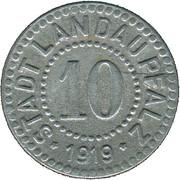 10 Pfennig (Landau) [Stadt, Pfalz] – avers