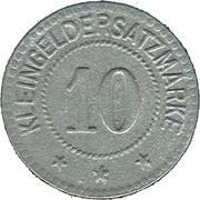 10 Pfennig (Landau) [Stadt, Pfalz] – revers