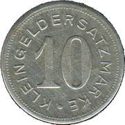 10 Pfennig (Pirmasens) [Stadt, Pfalz] – revers