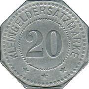 20 Pfennig (Neustadt an der Haardt) [Stadt, Pfalz] – revers