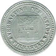 50 pfennig (Pirmasens) [Stadt, Pfalz] -  avers