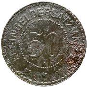 50 Pfennig (Schmiegel) [Stadt, Posen] – revers