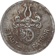 10 Pfennig (Ratibor) [Stadt,Silesia] – avers