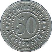 50 Pfennig (Albersweiler) [Private, Phalz, Zundholzfabrik] – avers