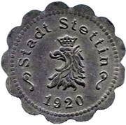 50 pfennig (Stettin) – avers