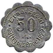 50 pfennig (Stettin) – revers