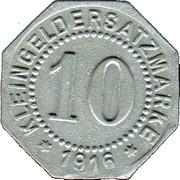 10 Pfennig (Schneidemühl) [Stadt, Posen] – revers