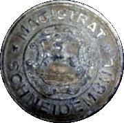 50 Pfennig (Schneidemühl; P.O.W. Camp Coinage) – revers