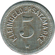 5 Pfennig (Wurzbach i Thüringen) [Geminde, Reuß jüngere Linie] – revers