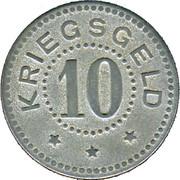 10 Pfennig (Stralsund) [Stadt, Pommern] – revers