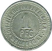 1 Pfennig (Weilburg am Lahn) [POW, Hessen-Nassau] – revers