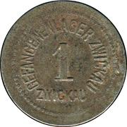 1 Pfennig (Zwickau) [POW, Sachsen] – avers