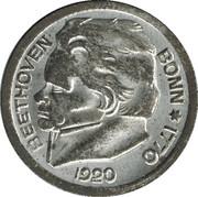 25 pfennig (Bonn ; Ludwig van Beethoven) -  revers