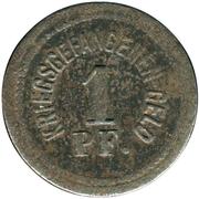 1 Pfennig (Zwickau) [POW, Sachsen] – revers