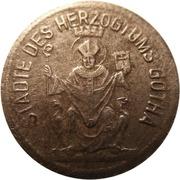 1 pfennig (Gotha) – avers