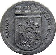 5 pfennig (Elberfeld) – avers