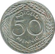 50 Pfennig (Leichlingen) [Stadt, Rheinprovinz] – revers