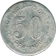 50 Pfennig (Wald i. Rheinland) [Stadt, Rheinprovinz] – avers