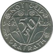 50 Pfennig (Gräfrath) [Stadt, Rheinprovinz] – avers