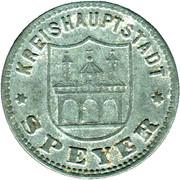 50 Pfennig (Speyer) [Kreishauptstadt, Rheinprovinz] – avers
