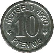 10 Pfennig (Daun) [Kreis, Rheinprovinz] – revers