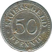 50 Pfennig (Solingen) [Gemeinden, Rheinprovinz] – revers