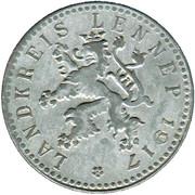 50 Pfennig (Lennep) [Kreis, Rheinprovinz] – avers