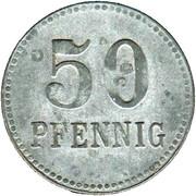 50 Pfennig (Lennep) [Kreis, Rheinprovinz] – revers