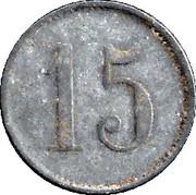 15 Pfennig – revers