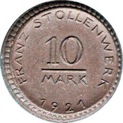 10 Mark Franz Stollenwerk ( Notgeld ) – avers