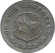 10/100 gutschriftsmarke (Schleswig-Holstein) – revers