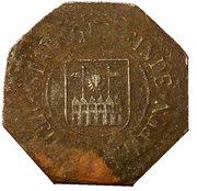 10 Pfennig HEILIGENHAFEN – avers