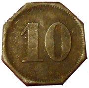 10 Pfennig HEILIGENHAFEN – revers
