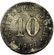 10 Pfennig (Burg auf Fehmarn) [Stadt, Schleswig-Holstein] – revers