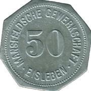 50 Pfennig (Mansfelsche Gewerkschaft - Eisleben) – avers