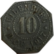 10 Pfennig (Eilenburg) [Private, Sachsen, Deutsche Celluloid-Fabrik] – avers