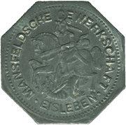 50 Pfennig (Eisleben) [Private, Saxony, Trade Union) – avers