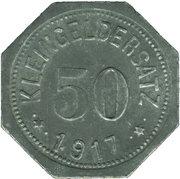 50 Pfennig (Eisleben) [Private, Saxony, Trade Union) – revers
