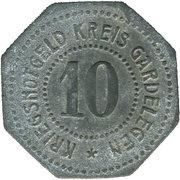 10 Pfennig (Gardelegen) [Kreis, Sachsen] – avers
