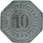 10 Pfennig (Gardelegen) [Kreis, Sachsen] – revers