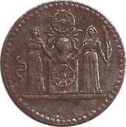 5 Pfennig (Halberstadt) – avers